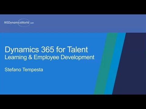 Learning & Performance Development With Microsoft Dynamics 365 For Talent