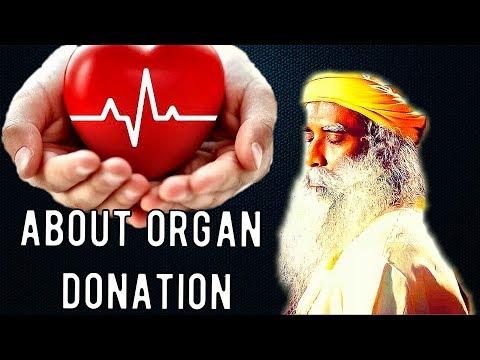 Sadhguru  Should I give my kidney to somebody?