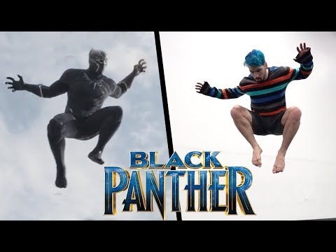Black Panther Stunts In Real Life (Parkour, Tricking, Freerunning)