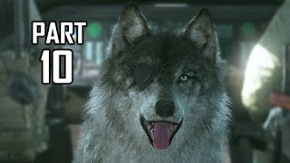 Metal Gear Solid 5 The Phantom Pain Walkthrough Part 10 - D-dog For President (mgs5 Let's Play)