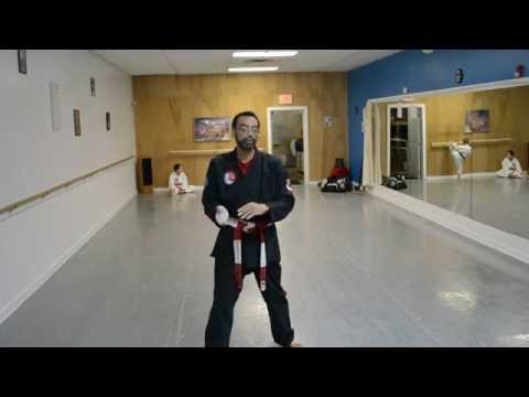 Hanshi Tillman and Beginner Kata Instruction