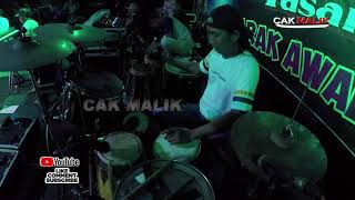 Download Mp3 Ngomong Apik Apik Cover Kendang Cak Malik Lagista Live Semarang