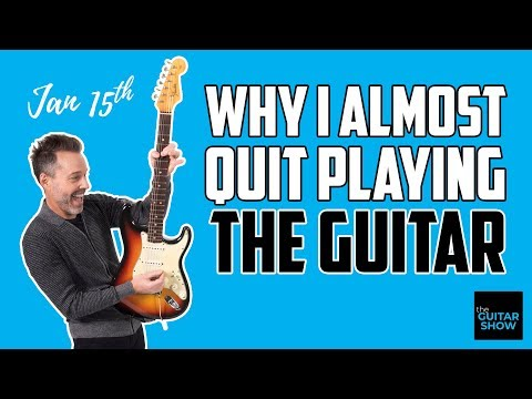Why I Almost Quit Playing Guitar - LIVE
