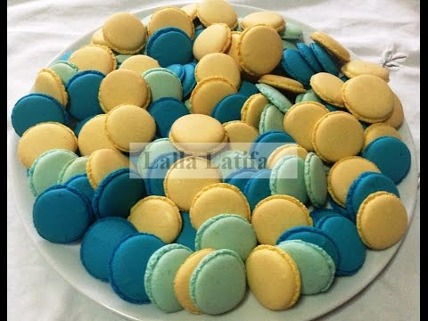 les coques des macarons