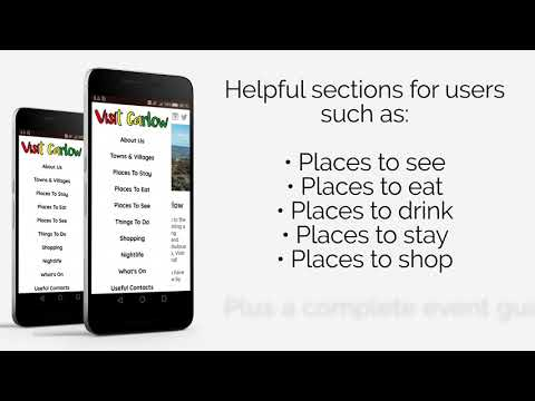 Visit Carlow App Promo