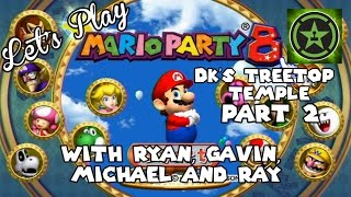 Let's Play - Mario Party 8: DK's Treetop Temple Part 2