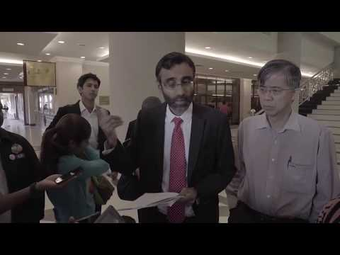 Mr M. Ravi Press Conference at Malaysia High Court Part 1