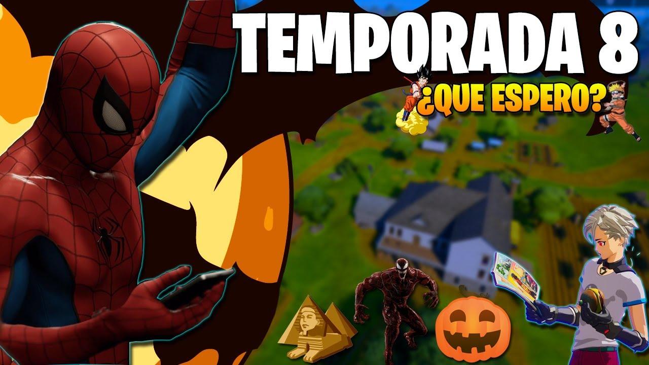 FORTNITE: TEMPORADA 8 | Lo que me gustaría VER y PREDICCIONES! - WINTRY