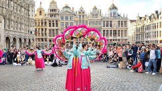 DU LỊCH CHÂU ÂU - Thử Món Chem Chép Tươi Nổi Tiếng Ở Bruges &amp Shopping Ở Brussels Thủ Đô Bỉ Ngày 11