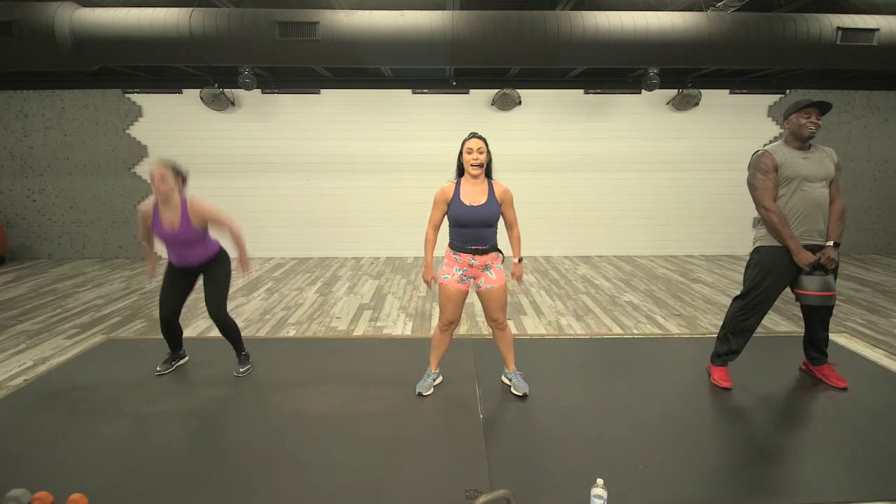 HIIT Class That I Taught Today on Livestream: Want Livestream info below!!!