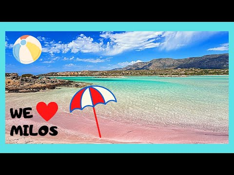 GREEK ISLAND Of MILOS: The Spectacular BEACHES, Where To Go, Which Ones To Avoid 🏖️