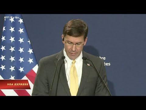 Bộ trưởng Quốc phòng Mỹ thăm Việt Nam (VOA)