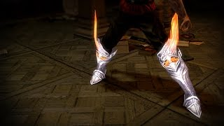 Path of Exile - Seraph Alabaster Boots Skin