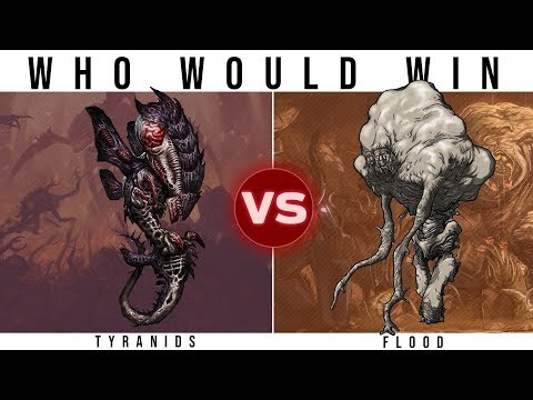 TYRANIDS (40k) vs. THE FLOOD (Halo) | Who Would Win?