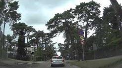 Autofahrt in Polen auf der Halbinsel Hel (Danziger Bucht)