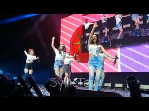 FANCAM - Red Flavor - Red Velvet REDMARE in Chicago 2019 (Front row)