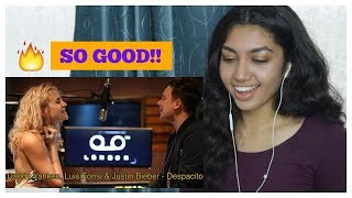 Luis Fonsi - Despacito ft. Daddy Yankee & Justin Bieber (SING OFF vs. Pixie Lott)   REACTION