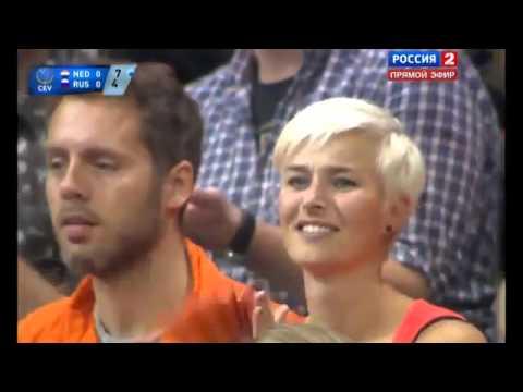 russia netherland- chung kết giải bóng chuyền vô địch châu Âu 2015