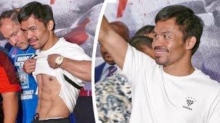 Manny Pacquiao GRAND ARRIVAL! - SENATOR PAC MAN in Las Vegas | vs. Keith Thurman