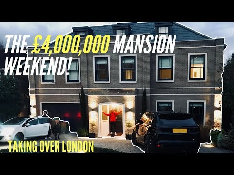 The £4 Million Mansion Weekend | Spending £10k In A London Club VIP | Partying With Celebrities!