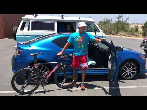 An easy way to put a bike into a small car - by De Soto Sport