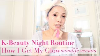 K-Beauty Nightly Routine - Momlife version | Vlog 058 by Sunina Young