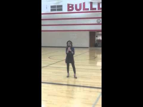 Talent show Algona Middle School