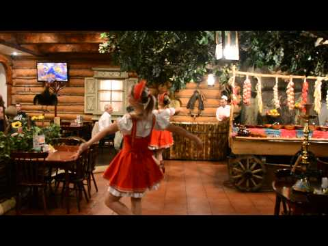 Our entertainment at a traditional Russian Restaurant where we had dinner.