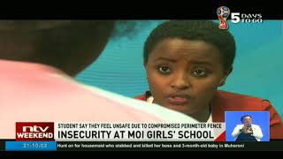 Moi Girls' student gives insight of school's security system