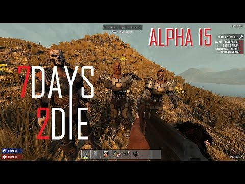 7 Days To Die Finding Bandits And How To Use Console Commands Alpha 15