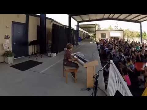 Dante Lazare 2014 Oakridge Private School Talent Show
