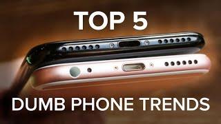 The dumbest trends in phones today (CNET Top 5)