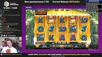 SEK 50k (€5000!) Bonus Hunt #14, Results from 28 features