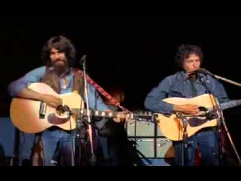 George Harrison & Bob Dylan - If Not For You (Live)