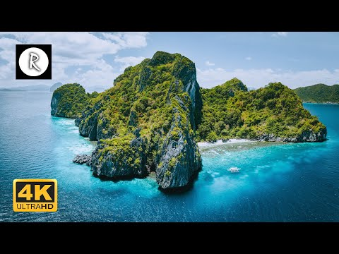 Our Beautiful Planet - Philippines | Amazing Nature Scenery & The Best Relax Music - 4K