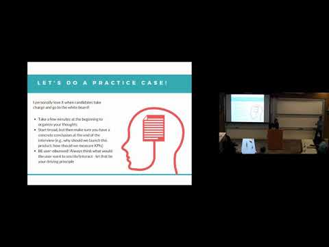 Product Management Interviewing by Nancy Wang at Wharton School of Business, SF
