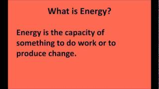 Energy and Metabolism Explained