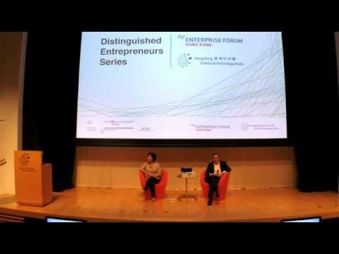 MIT Enterprise Forum Hong Kong - May 2014 - Marjorie Yang, chairman of Esquel Group