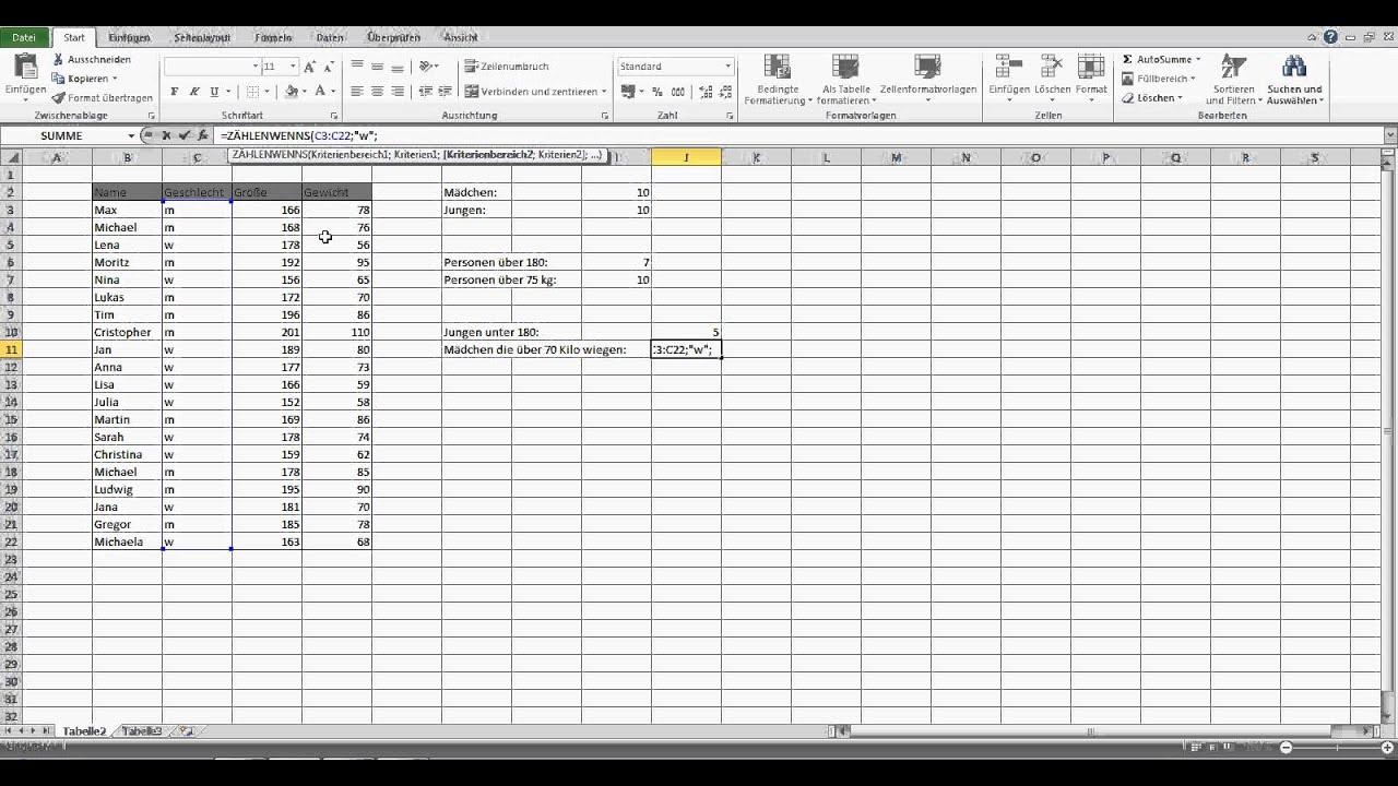 Excel Wenn Und
