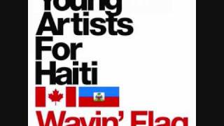 Young Artists For Haiti- Wavin Flag Chipmunk Remix [Full Song]