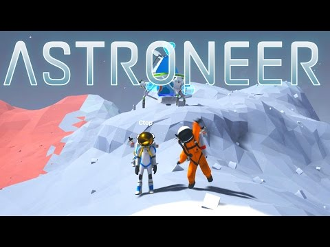 Save Astroneer - Ep. 12 - Race to the Moon! - Let's Play Astroneer Multiplayer Gameplay Images