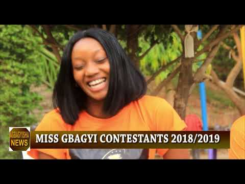 MEET MISS GBAGYI NIGERIA 2018 CONTESTANTS