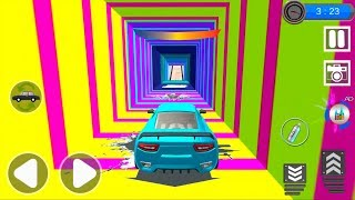 US Car Driving: Fearless Stunts - Impossible Stunt Car Tracks 3D #2 - Android Gameplay
