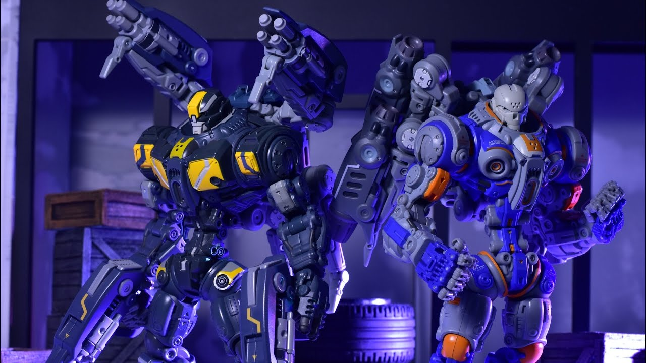 Astrobots BLUE TOY FORGE Toy Notch Robot 1//12 A01-D APOLLO figure Exclusive Ver