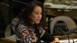 LOREN LEGARDA - UNITED NATIONS GENERAL ASSEMBLY SPEECH