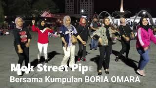 Mok Street Piper diterjah Kumpulan Boria Pulau Pinang - Boria Omara