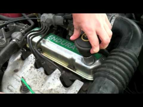 Where To Add Engine Oil Ford Fiesta