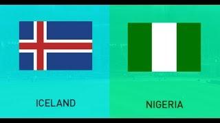 FIFA WC 2018 Simulation: Group D Match 2: Iceland VS Nigeria
