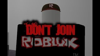 """Don't Join"" Roblox Creepypasta"