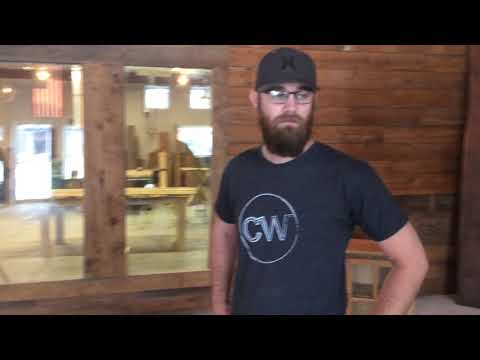 Devon Evers describes their Crossgrain Woodworking company.
